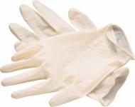 Перчатки латэксные одноразовые